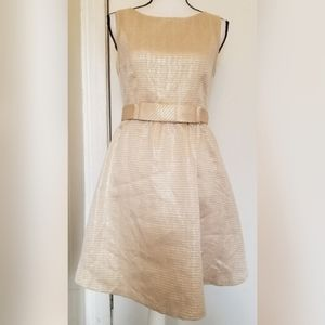LC Lauren Conrad Gold Silver Party Dress Formal